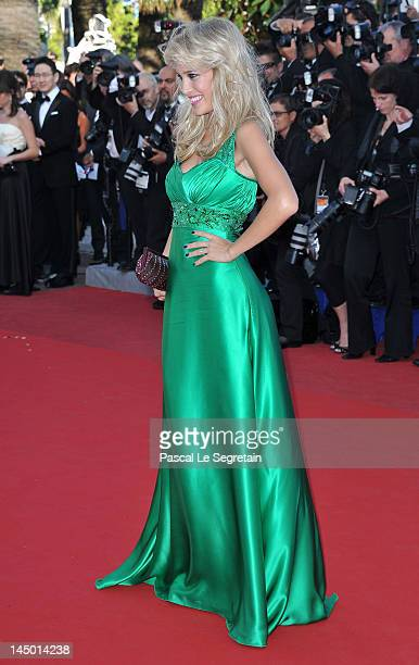 Luisana Lopilato attends the 'Killing Them Softly' Premiere during 65th Annual Cannes Film Festival at Palais des Festivals on May 22 2012 in Cannes...
