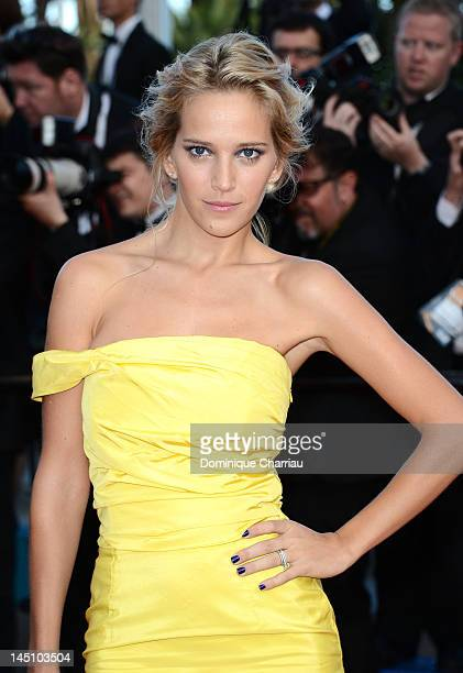 Luisana Lopilato attends the 'On The Road' Premiere during the 65th Annual Cannes Film Festival at Palais des Festivals on May 23 2012 in Cannes...
