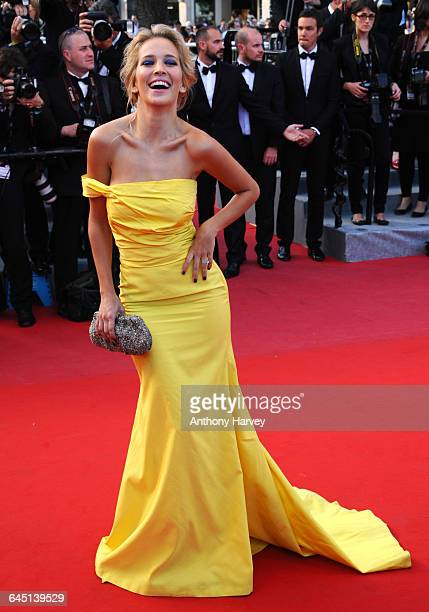 Luisana Lopilato attends the 'On The Road Premiere during the 65th Annual Cannes Film Festival at Palais des Festivals on May 23 2012 in Cannes France
