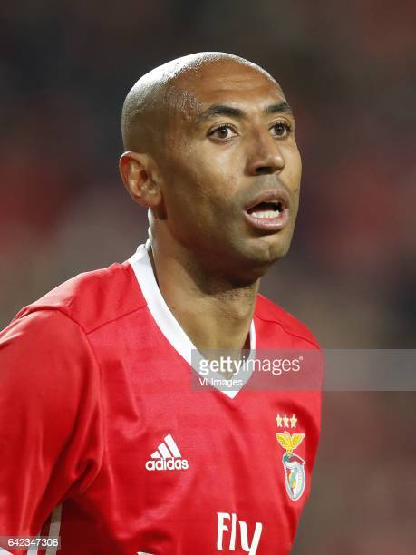 Luisao of SL Benficaduring the UEFA Champions League round of 16 match between SL Benfica and Borussia Dortmund on February 14 2017 at Estádio da Luz...