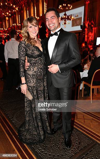 Luise Baehr and Buelent Sharif during the Filmball Vienna 2015 on March 14 2015 in Vienna Austria