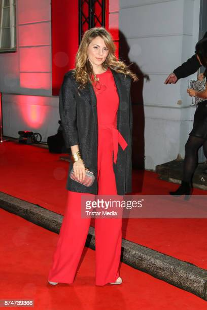 Luise Baehr arrives at the New Faces Award Style 2017 on November 15 2017 in Berlin Germany