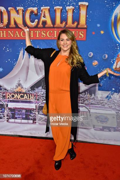 Luise Baehr attends the 15th Roncalli christmas circus premiere at Tempodrom on December 22 2018 in Berlin Germany