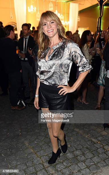 Luise Baehr attends the Audi Director's Cut at the Praterinsel during the Munich Film Festival at Praterinsel on June 27 2015 in Munich Germany
