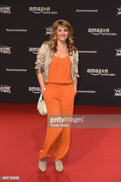 Luise Baehr attends the premiere of the Amazon series 'You are wanted' at CineStar on March 15 2017 in Berlin Germany