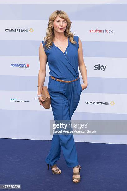 Luise Baehr attends the producer party 2015 of the Alliance German Producer Cinema And Television on June 11 2015 in Berlin Germany