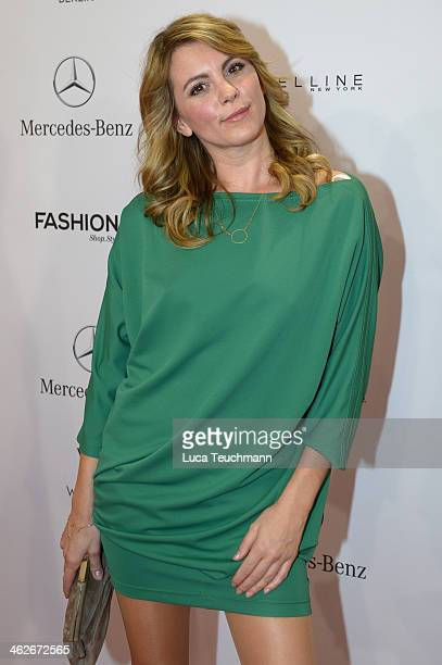 Luise Baehr attends the Riani show during MercedesBenz Fashion Week Autumn/Winter 2014/15 at Brandenburg Gate on January 14 2014 in Berlin Germany