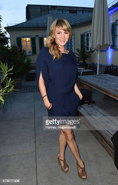 Luise Baehr attends the UFA FICTION Reception during the Munich Film Festival at Cafe Reitschule on June 29 2015 in Munich Germany