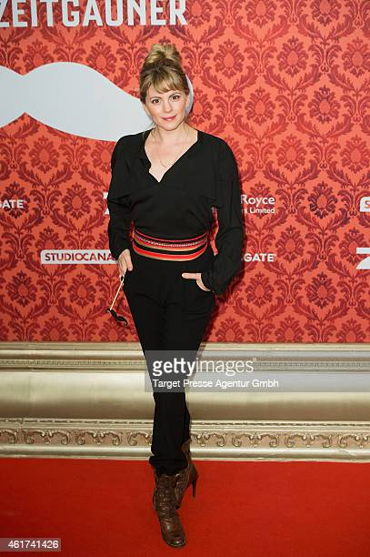 Luise Baehr attends the world premiere of the film 'Mortdecai Der Teilzeitgauner' at Zoo Palast on January 18 2015 in Berlin Germany