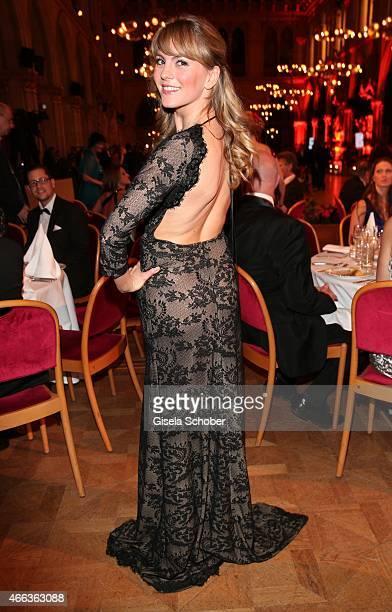 Luise Baehr during the Filmball Vienna 2015 on March 14 2015 in Vienna Austria