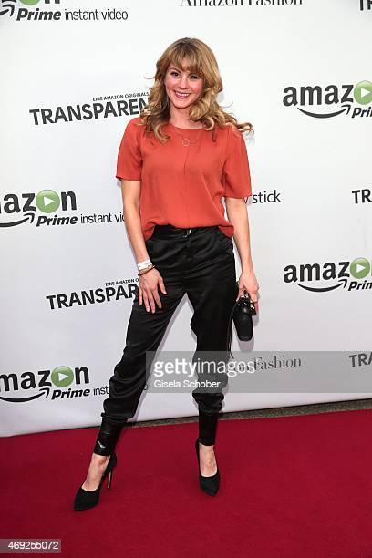 Luise Baehr during the German premiere for Amazon's original drama series 'Transparent' at Kuenstlerhaus am Lenbachplatz on April 10 2015 in Munich...