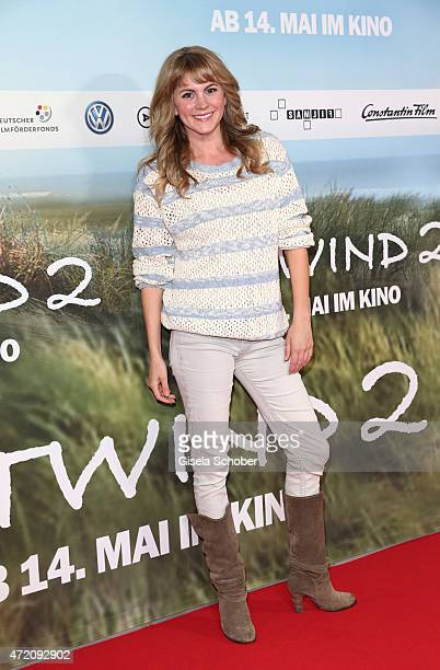 Luise Baehr during the German premiere of the film 'Ostwind 2' on May 3 2015 in Munich Germany