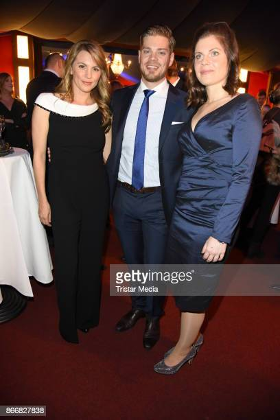 Luise Baehr, Julien Fuchsberger and Jennifer Fuchsberger attend the 7th Diabetes Charity Gala at TIPI am Kanzleramt on October 26, 2017 in Berlin,...