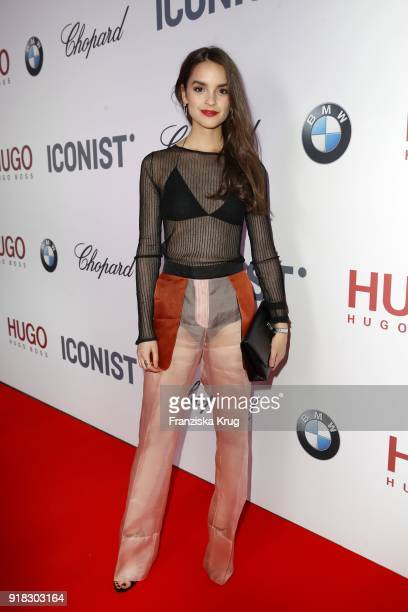 Luise Befort attends the Young ICONs Award in cooperation with ICONIST at Spindler&Klatt on February 14, 2018 in Berlin, Germany.