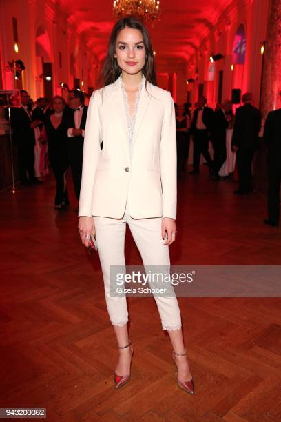 Luise Befort during the 29th ROMY award at Hofburg Vienna on April 7, 2018 in Vienna, Austria.