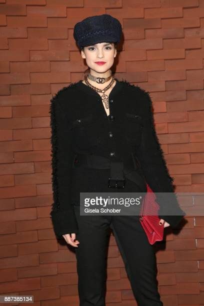 Luise Befort during the Chanel Trombinoscope Collection des Metiers d'Art 2017/18 photo call at Elbphilharmonie on December 6 2017 in Hamburg Germany