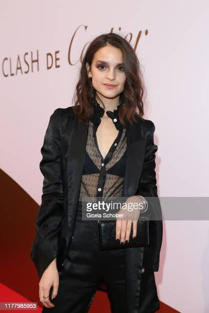"""Luise Befort during the """"Clash de Cartier - The Opera"""" event at Eisbachstudios on October 24, 2019 in Munich, Germany."""
