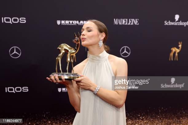 Luise Heyer attends the 71st Bambi Awards at Festspielhaus BadenBaden on November 21 2019 in BadenBaden Germany