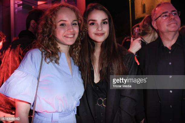 Luise von Finckh and Luise Befort attend the New Faces Award Film at Haus Ungarn on April 27, 2017 in Berlin, Germany.