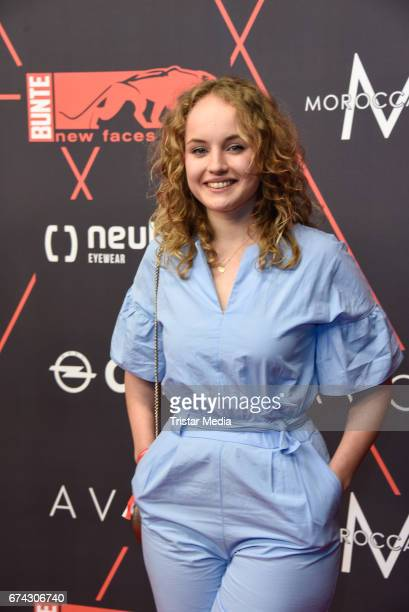 Luise von Finckh attends the New Faces Award Film at Haus Ungarn on April 27 2017 in Berlin Germany