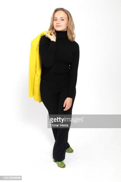 Luise von Finckh attends the photo call for the television movie series 'Sechs auf einen Streich' on October 24 2018 in Hamburg Germany