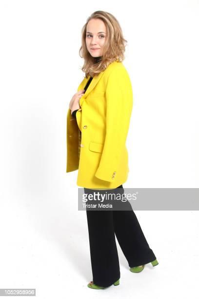 Luise von Finckh attends the photo call for the television movie series 'Sechs auf einen Streich' on October 24, 2018 in Hamburg, Germany.