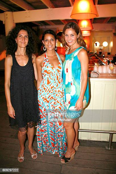 Luisella Meloni Alexis Rodriguez and Abigail Klem attend Launch of Diane von Furstenberg Soleil Swim and Beach Collection at The Delano on July 13...