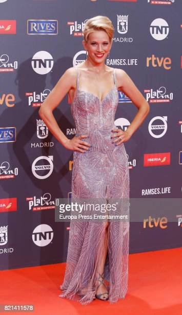 Luisiana Lopilato attends Platino Awards 2017 at La Caja Magica on July 22 2017 in Madrid Spain