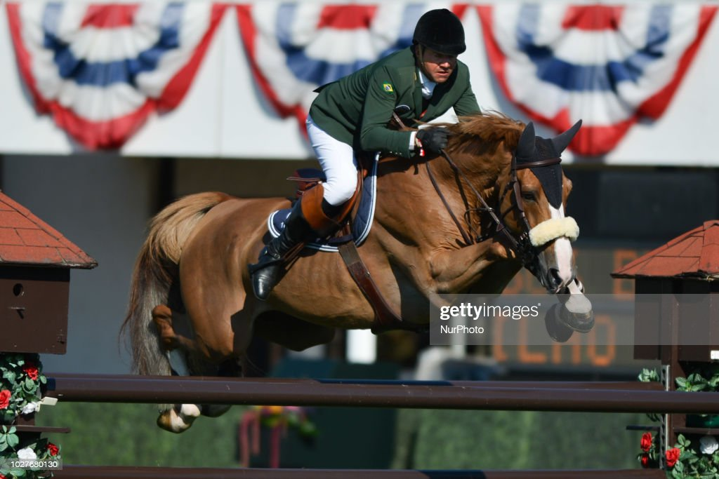 Luiz Felipe De Azevedo Filho of France riding Hermes Van De... News Photo -  Getty Images
