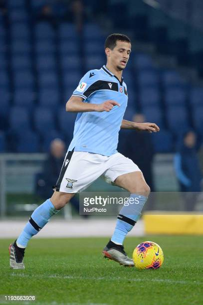 Luiz Felipe of SS Lazio during the Coppa Italia match between SS Lazio and US Cremonese at Olimpico Stadium on January 14 2020 in Rome Italy