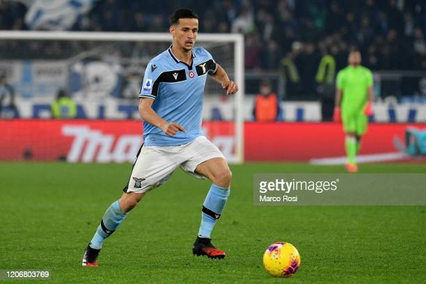 Luiz Felipe Ramos Marchi of SS Lazio in action during the Serie A match between SS Lazio and FC Internazionale at Stadio Olimpico on February 16,...