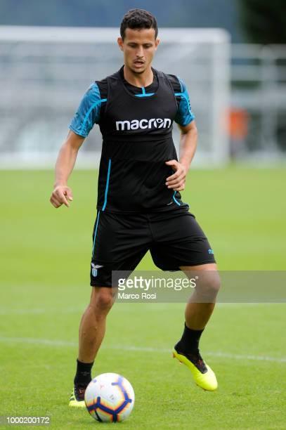Luiz Felipe Ramos of SS Lazio duirng the SS Lazio preseason training camp on July 16 2018 in Auronzo di Cadore nearBelluno Italy