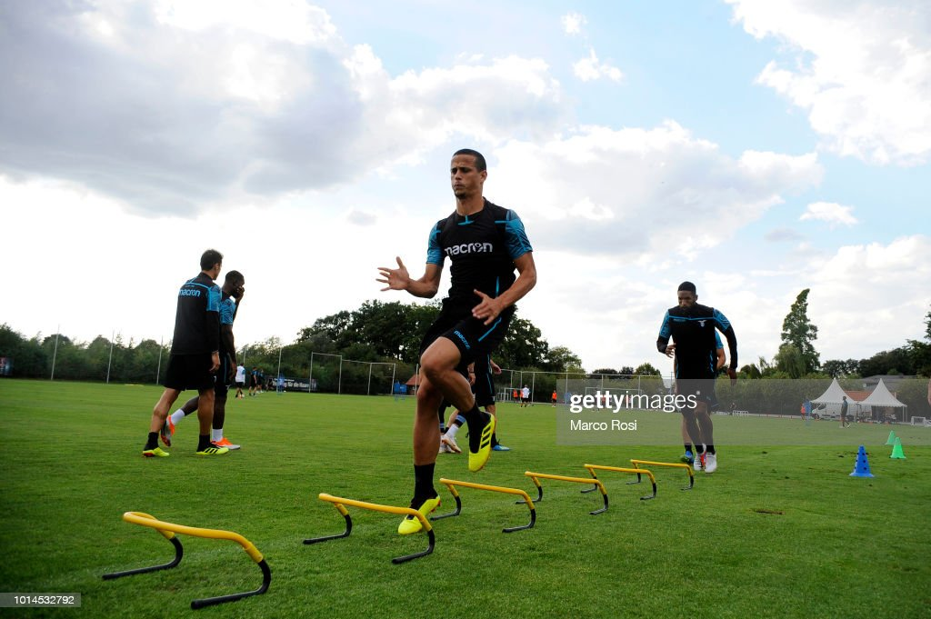 Luiz Felipe Ramos of SS Lazio during the SS Lazio training session on August 10, 2018 in Marienfeld, Germany.