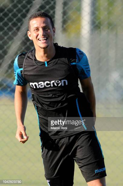 Luiz Felipe Ramos of SS Lazio during the SS Lazio training session and press conference on September 28 2018 in Rome Italy