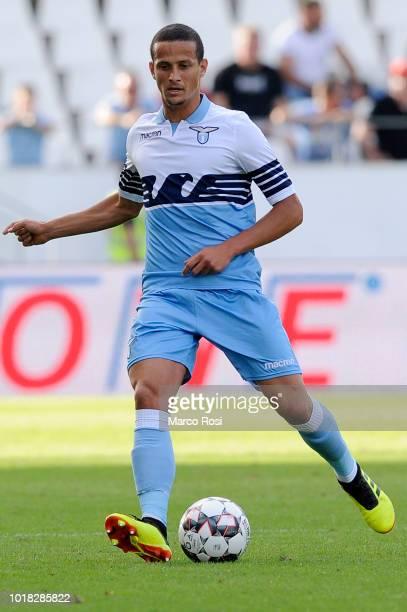 Luiz Felipe Ramos of SS Lazio in actin during the Borussia Dortmund v Lazio PreSeason Friendly at the Essen Stadium on August 12 2018 in Essen Germany