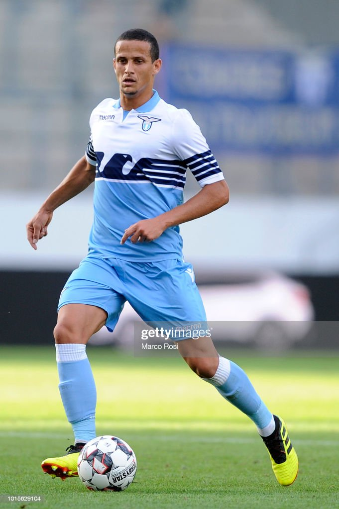 Luiz Felipe Ramos of SS Lazio in action during the ...