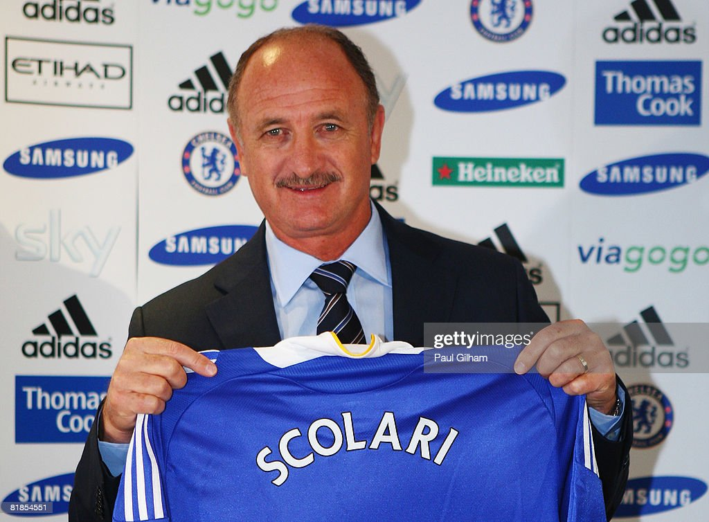 Chelsea Unveil Luiz Felipe Scolari as Their New Manager : News Photo