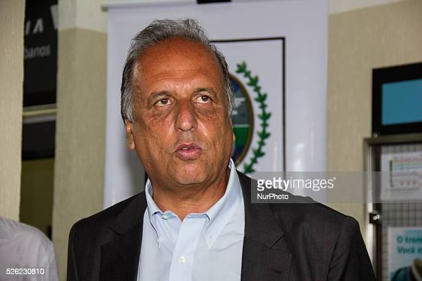 Luiz Fernando de Souza Pez��o Governor of the State of Rio de Janeiro Rio de Janeiro Brazil 29 February 2016 Luiz Fernando de Souza Pez��o Governor...