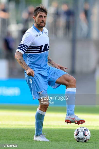 Luiz Francesco Acerbi of SS Lazio in actin during the Borussia Dortmund v Lazio PreSeason Friendly at the Essen Stadium on August 12 2018 in Essen...