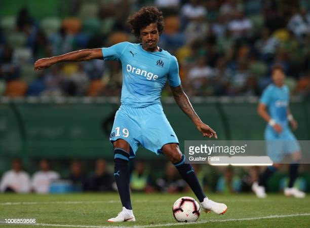 Luiz Gustavo from Olympique de Marseille in action during the PreSeason Friendly match between Sporting CP and Olympique de Marseille at Estadio Jose...