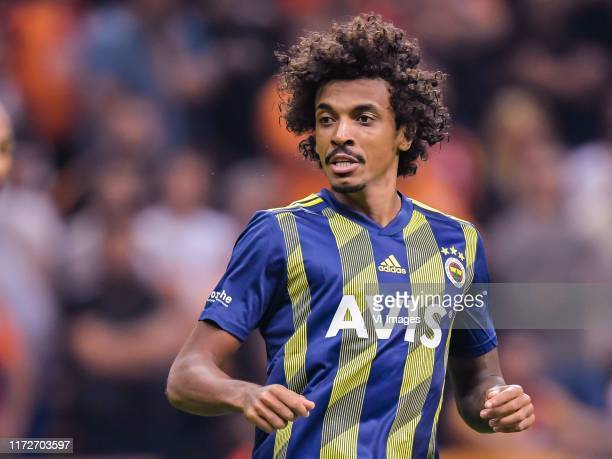 Luiz Gustavo of Fenerbahce SK during the Turkish Spor Toto Super Lig match between Galatasaray SK and Fenerbahce AS at the Turk Telekom Arena on...
