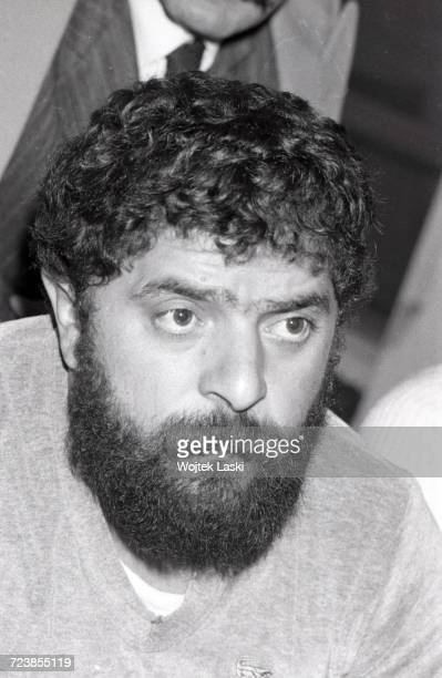 Luiz Inacio Lula da Silva Brazilian trade union activist leader of the Workers' Party Rome Italy on January 16th 1981