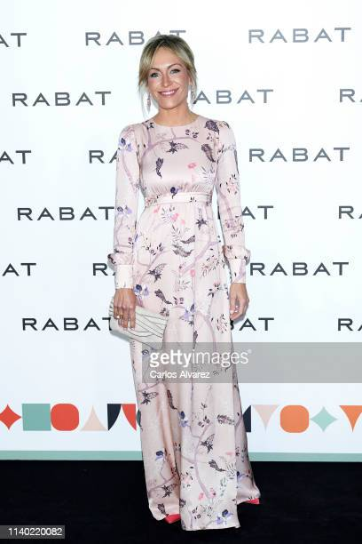 Lujan Arguelles attends Rabat's Jewelry new collection presentation at Bless Hotel on April 03 2019 in Madrid Spain