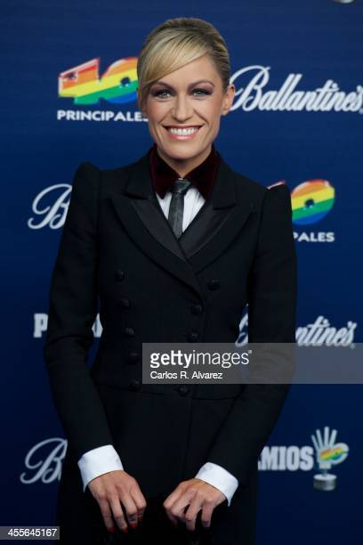 Lujan Arguelles attends the '40 Principales Awards' 2013 photocall at Palacio de los Deportes on December 12 2013 in Madrid Spain