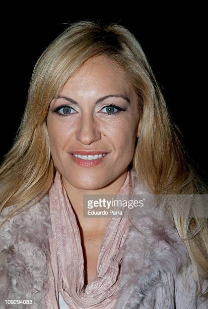 Lujan Arguelles attends the Hannibal Laguna fashion show during the Cibeles Madrid Fashion Week A/W 2011 at Ifema on February 19 2011 in Madrid Spain