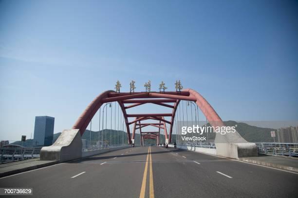 Lujiazhi Bridge of Zhejiang city,Zhoushan province,China