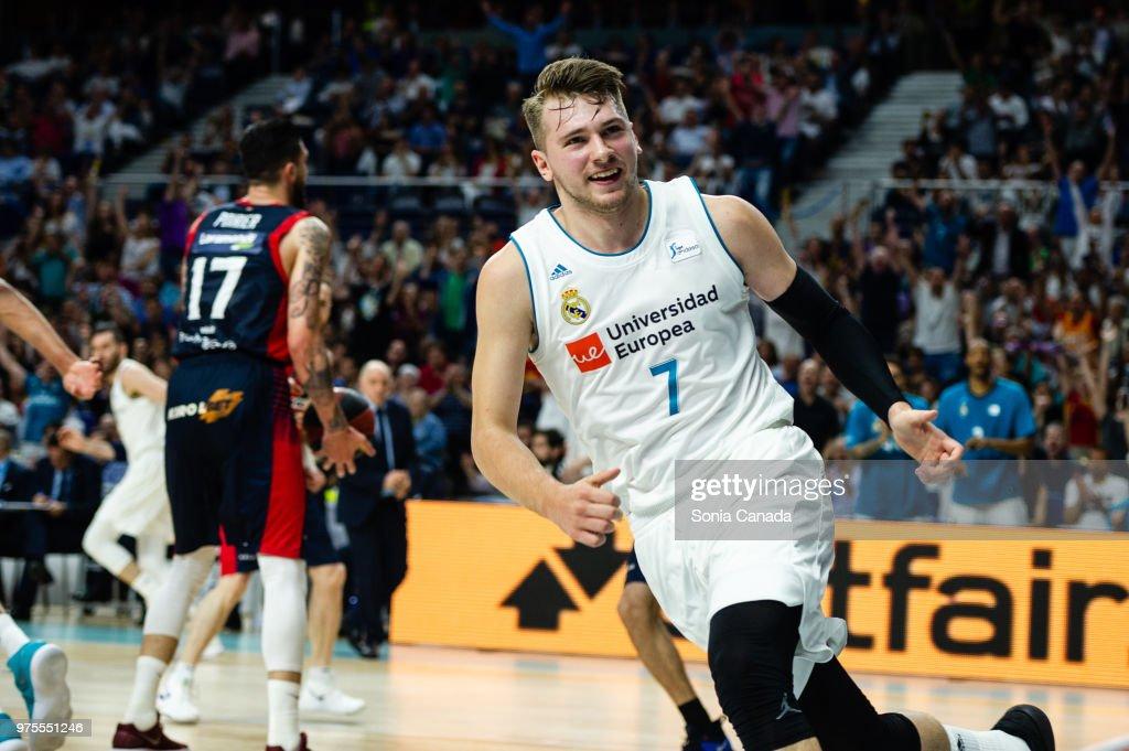 Real Madrid v Kirolbet Baskonia: Liga ACB