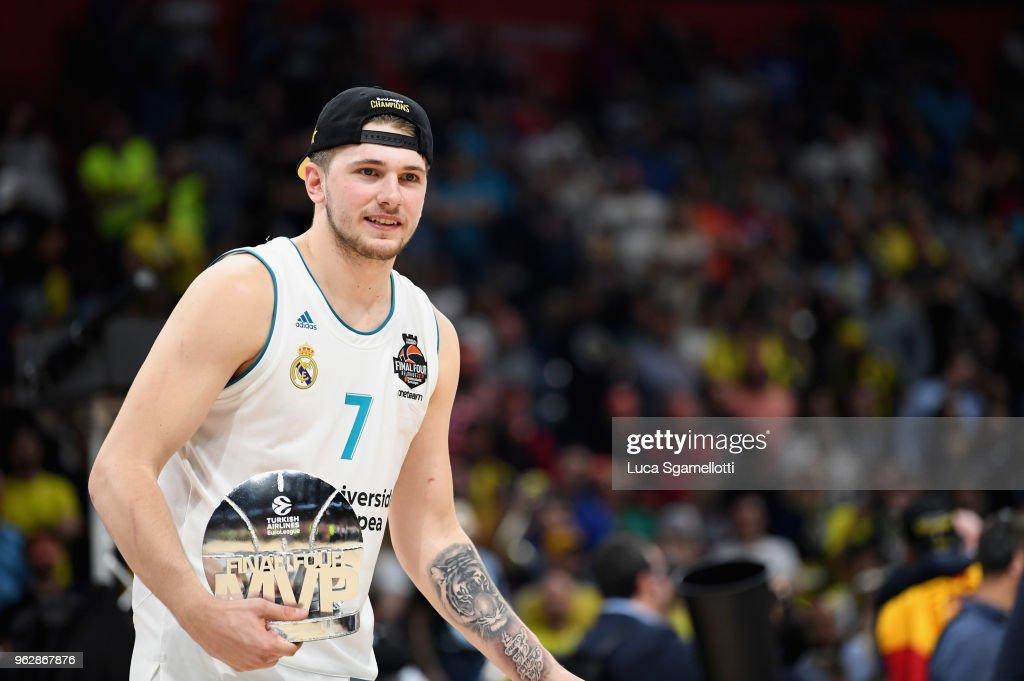 Championship Game Real Madrid v Fenerbahce Dogus Istanbul - 2018 Turkish Airlines EuroLeague F4 : Nachrichtenfoto