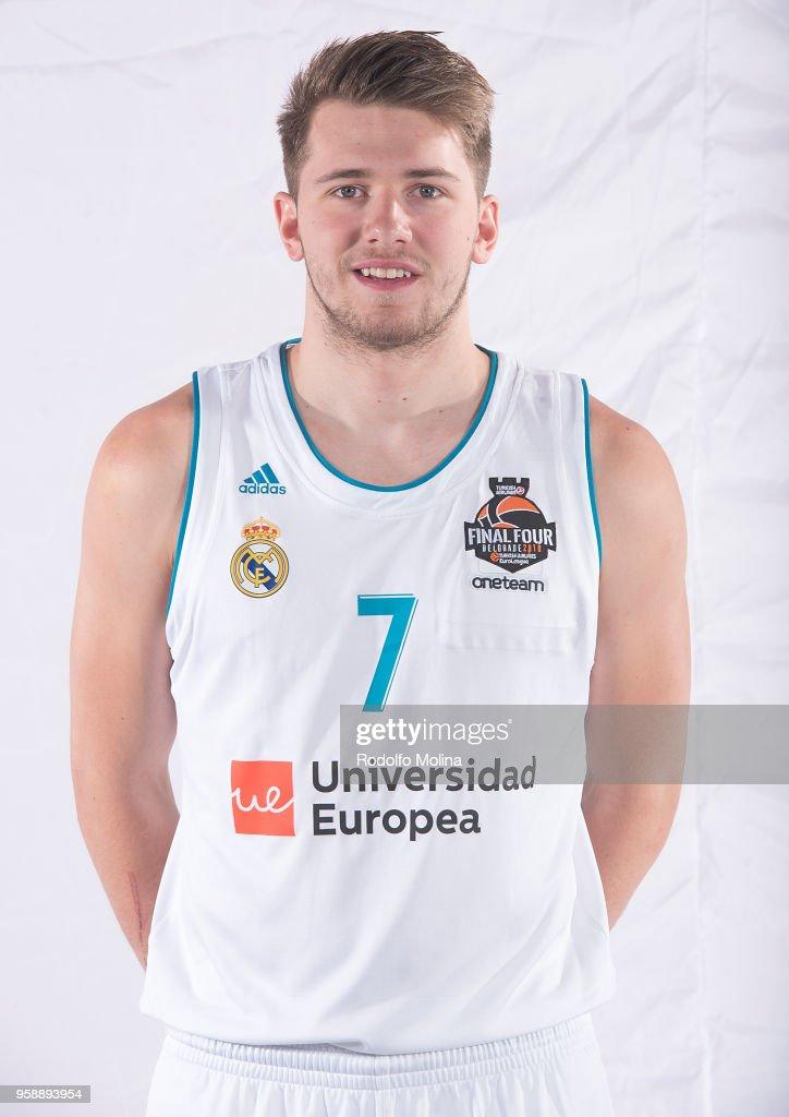 Real Madrid new players shirt for 2018 Euroleague Basketball Belgrade Final Four