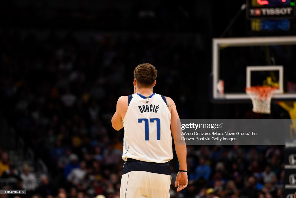 DENVER NUGGETS VS DALLAS MAVERICKS, NBA REGULAR SEASON : News Photo